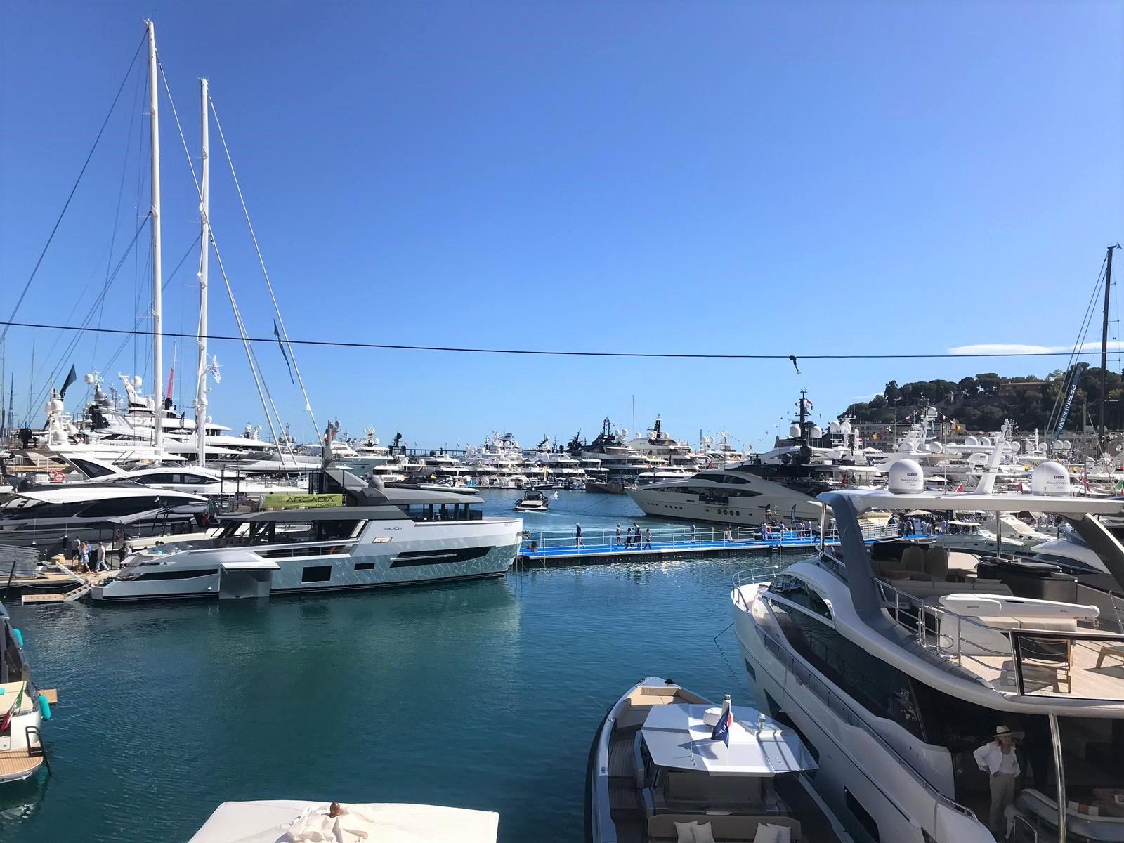 Monaco Yacht Show Harbour