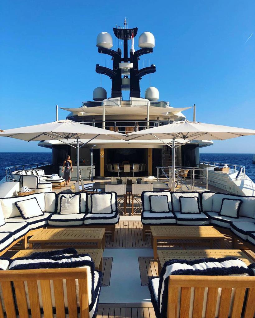 Superyacht Deck at Monaco Yacht Show