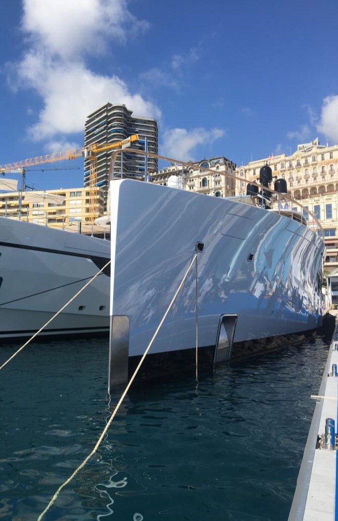 SYZYGY at Monaco Yacht Show