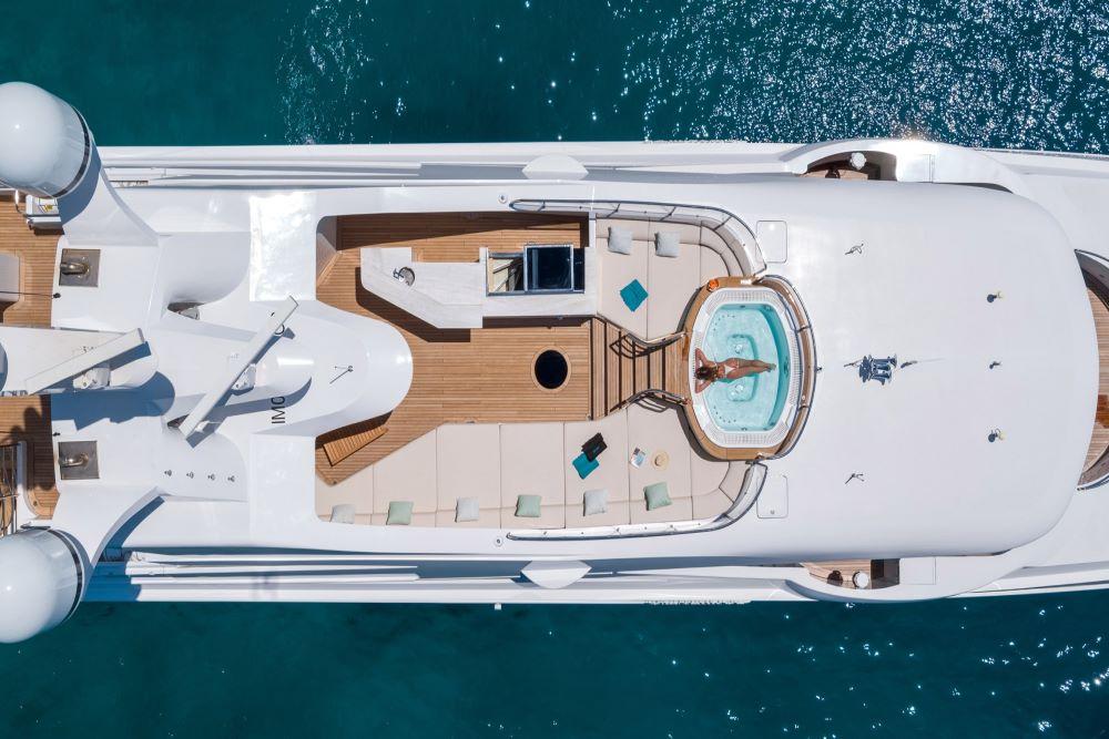Superyacht Deck Pool