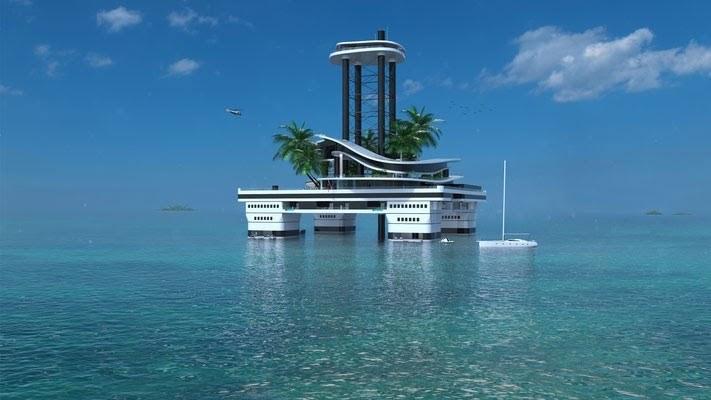 Kokomo Ailand Floating Island