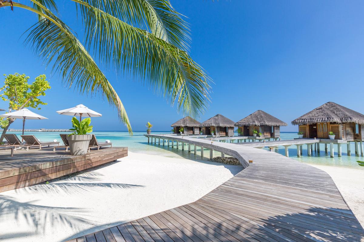 Ari Atoll Villa Cabana TJB Superyacht Vaction