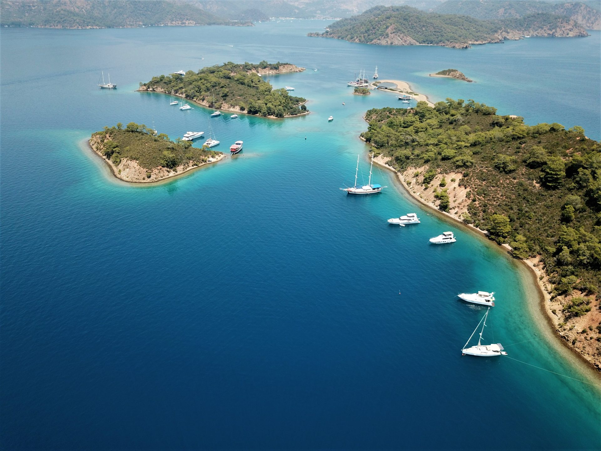 Bozburun Ocean Mountain Ocean Island Boat TJB Superyachts