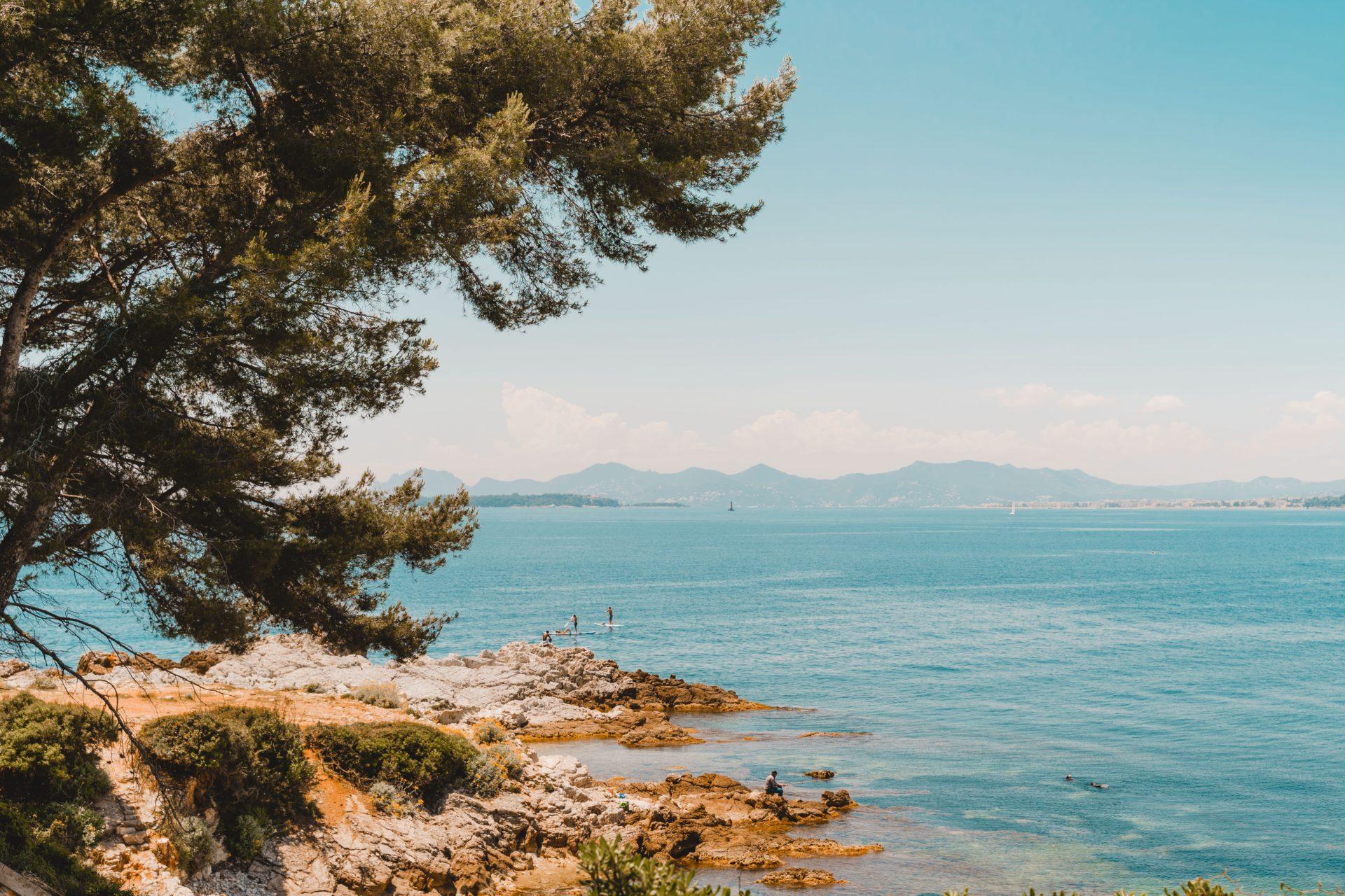 cap antibes beaches