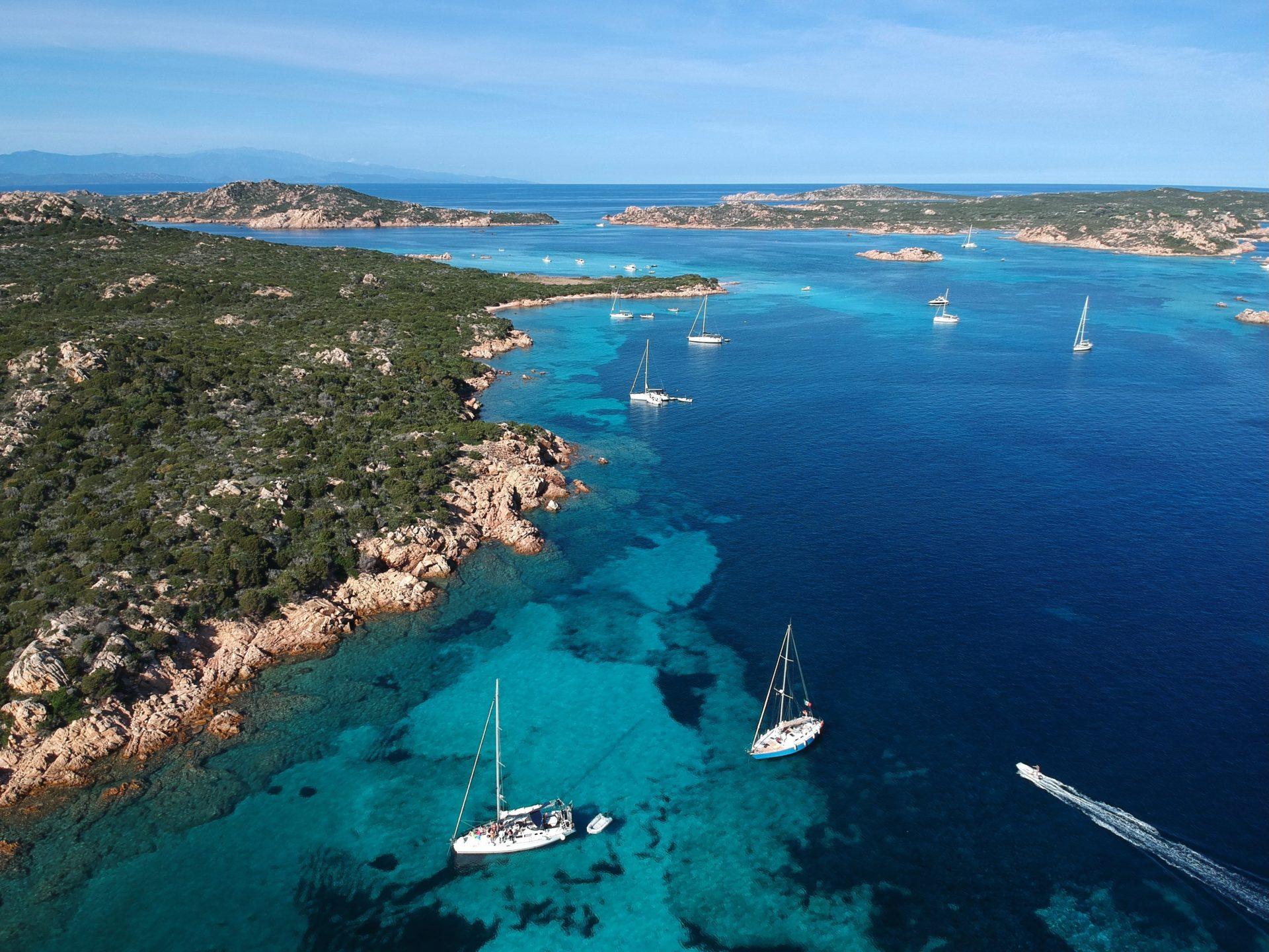 yacht charter in la maddalena