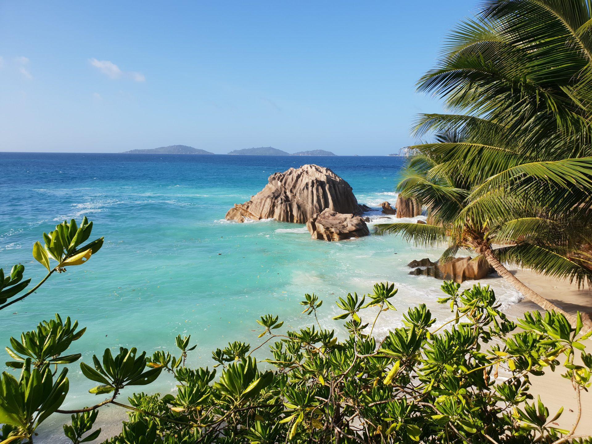 La Digue Island Beach TJB Superyachts