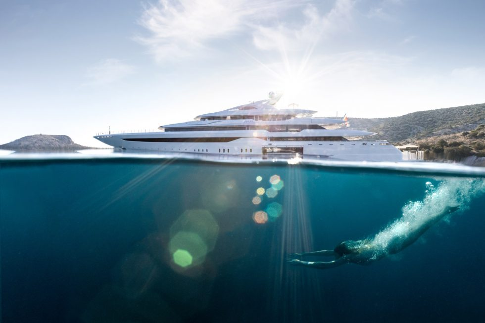 luxury yacht charter - world