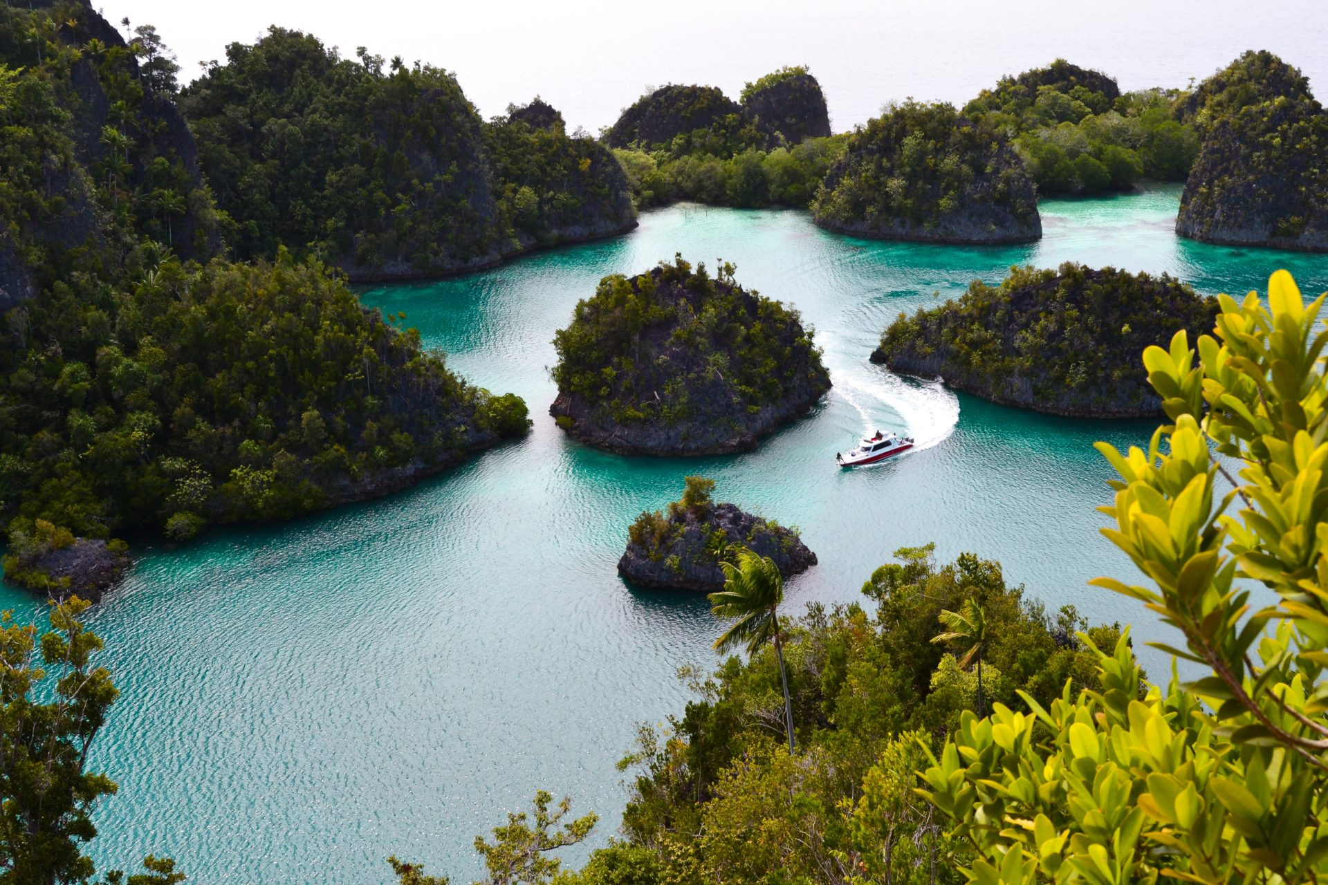 Raja Ampat Island Boat Ocean TJB