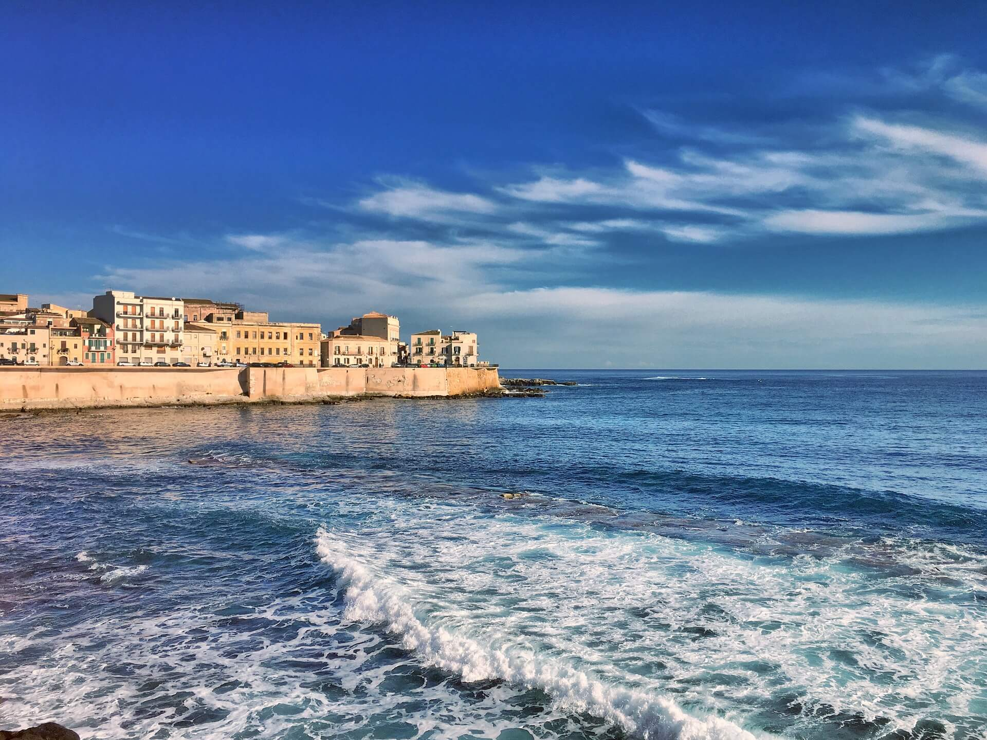 Sicily Seaside Ortigia Syracuse