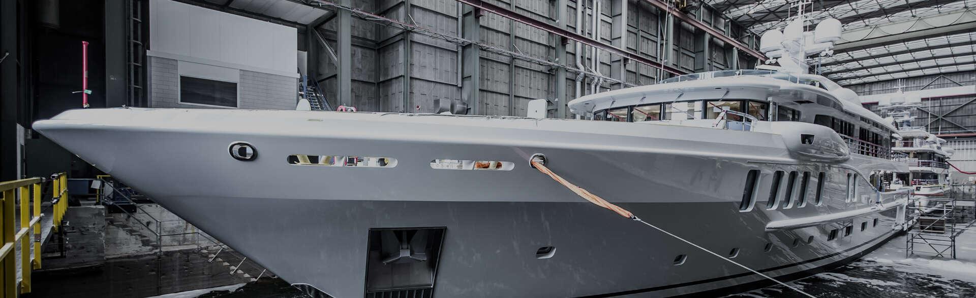 semi custom yacht