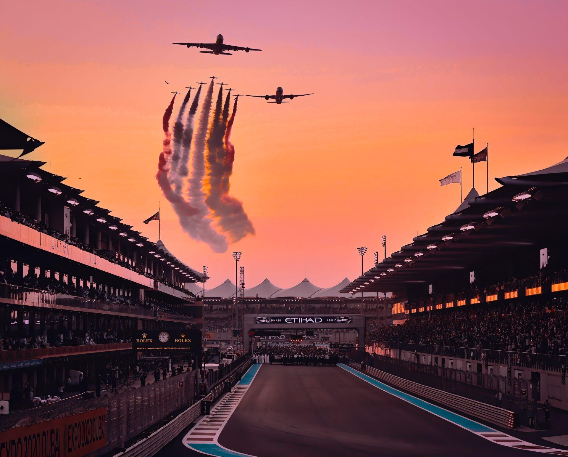 Abu Dhabi Grand Prix Emirates